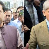 Shahbaz Sharif and Hamza Shahbaz
