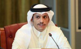 قطر: اسرائیل کے ساتھ سمجھوتوں کا امن مرحلے میں کردار ادا کرنا ناممکن ہے